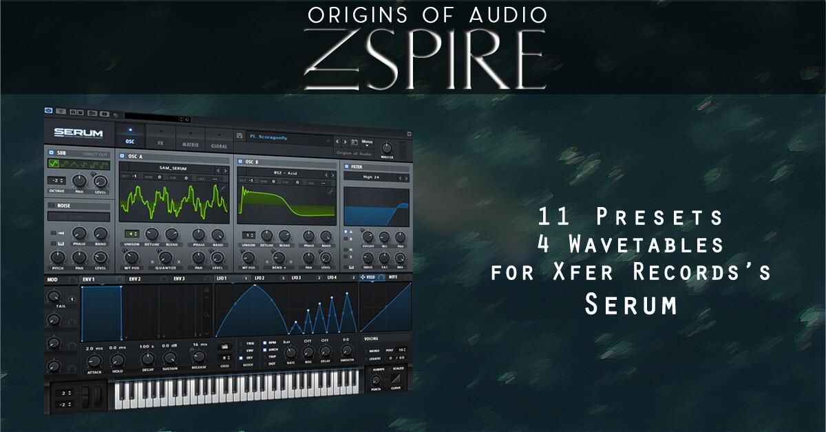 Free Serum Presets - Origins Of Audio